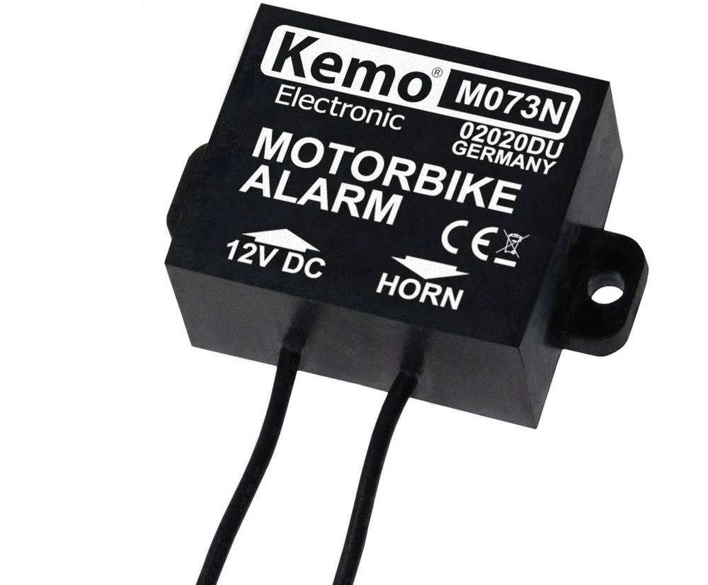 Modul za alarm za motorna kolesa Kemo M073N 12 V/DC, 24 V/DC