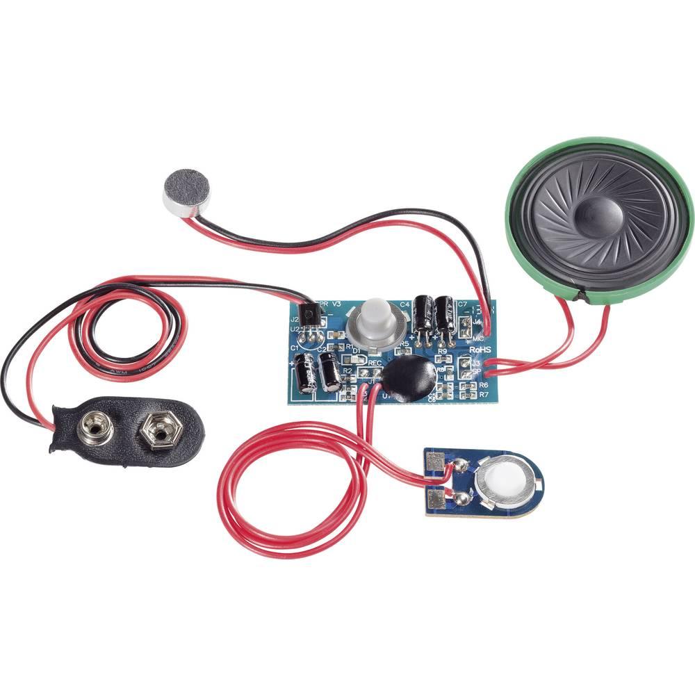 Ljudinspelningsmodul Komponent Conrad Components 191083 9 V/DC Inspelningstid 20 s