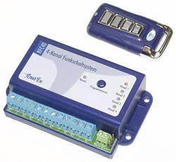 4-kanalni brezžični stikalni sistem z ročnim oddajnikom Towiistem z ročnim oddajnikom Towi TowiTek