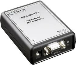 TRL Funksysteme-Brezžični modem 60101 IRIS RS232, 433MHz antena, modul 12-24V/DC, 1000 m