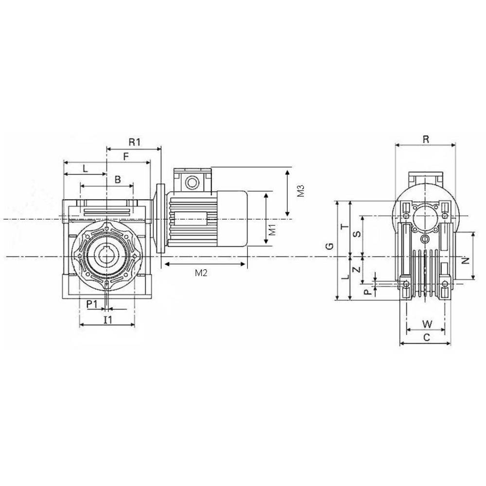 Induction Motor Msf Vathauer Antriebstechnik Gm 037 Ms Hy Q45 I30 Engine Diagram B14 Ie1 03