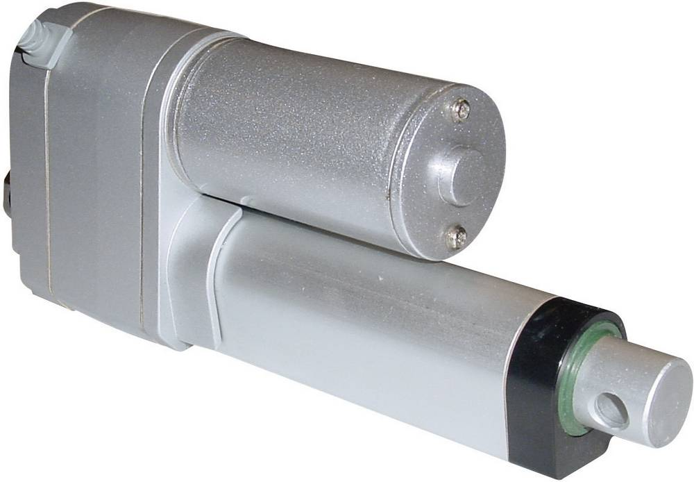 Električni cilindar 24 V/DC dužina takta 100 mm 1200 N DLA-24-40-A-100-POT-IP65