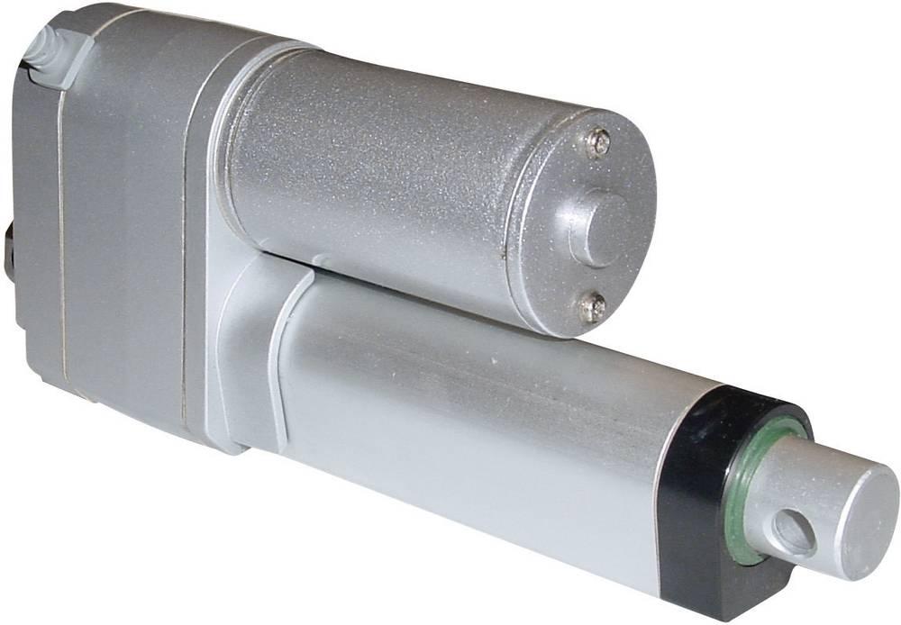 Električni cilinder 12 V/DC dolžina hoda: 200 mm 250 N DLA-12-10-A-200-POT-IP65