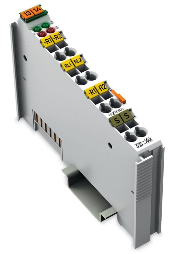 WAGO 2-kanalna-analogna vhodna spona 750-461/020-000 prek sistemske napetosti / DC vsebuje: 1 kos