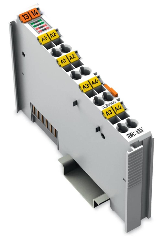 WAGO 2-/4-kanalna-analogna vhodna spona 750-464/020-000 prek sistemske napetosti / DC vsebuje: 1 kos