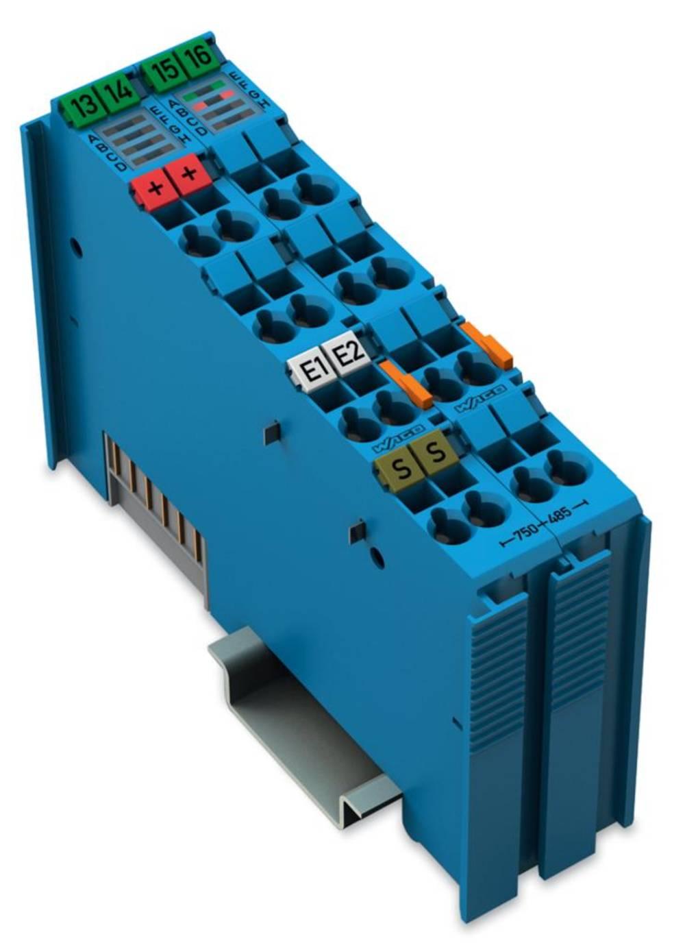 WAGO 2-kanalna-analogna vhodna spona 750-485 vsebuje: 1 kos