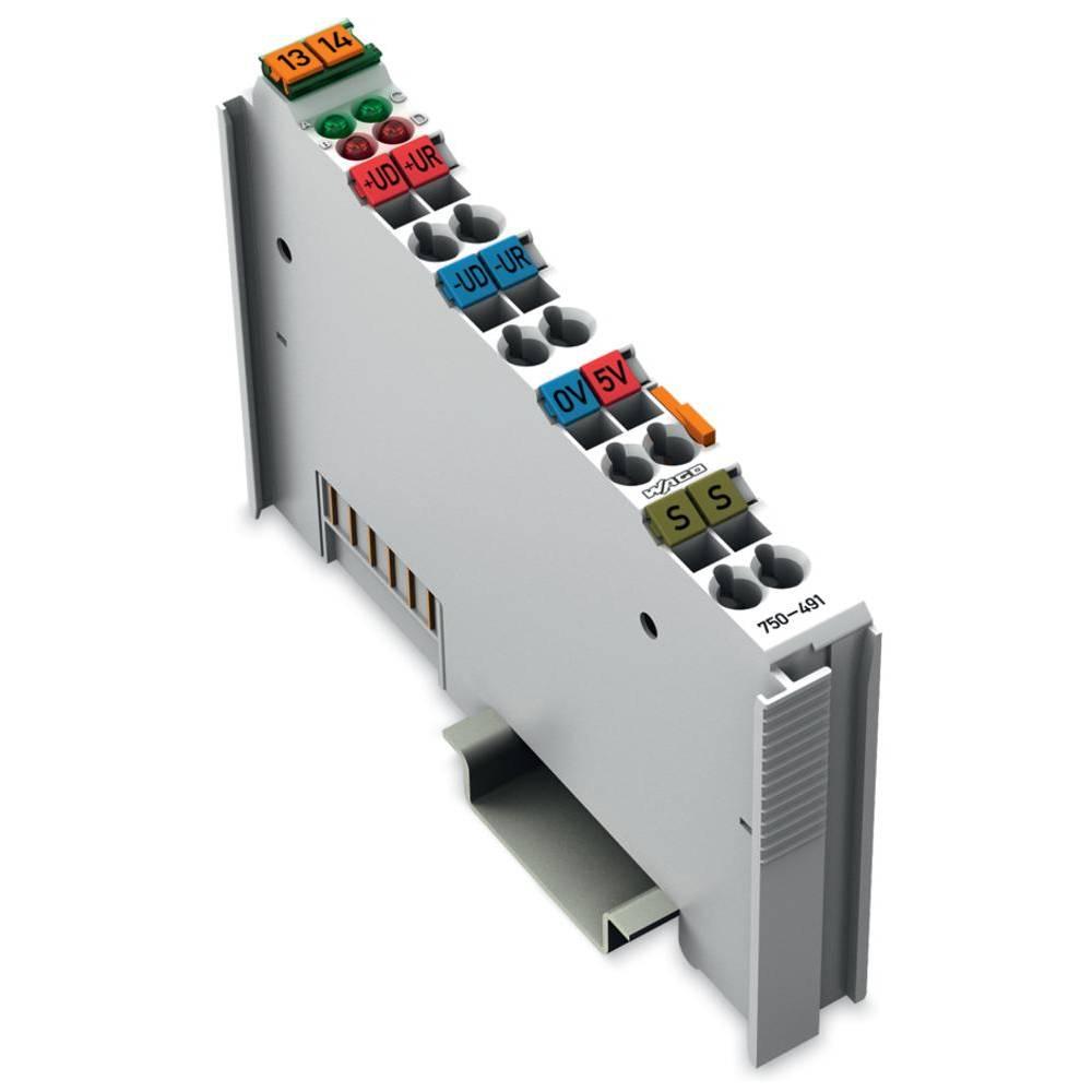 WAGO 1-kanalna vhodna spona 750-491 prek sistemske napetosti / DC vsebuje: 1 kos