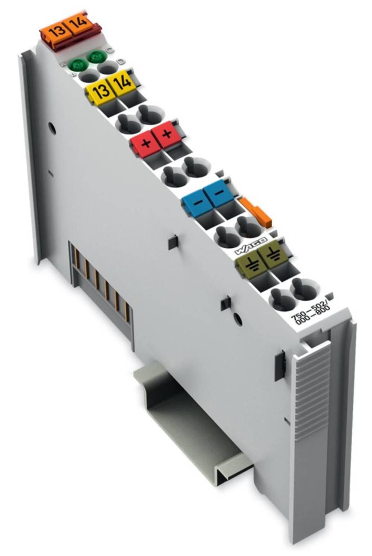 WAGO 2-kanalna-digitalna izhodna spona 750-502/000-800 24 V/DC vsebuje: 1 kos