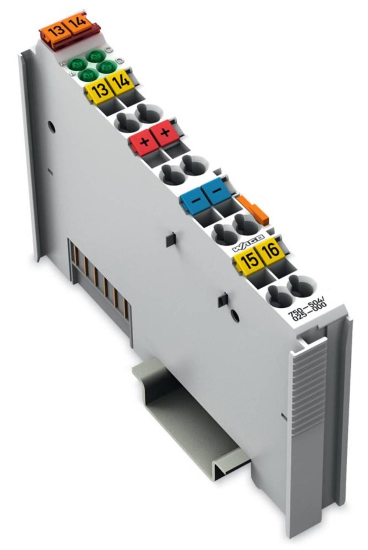 WAGO 4-kanalna-digitalna izhodna spona 750-504/025-000 24 V/DC vsebuje: 1 kos