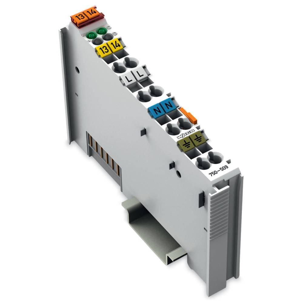 WAGO 2-kanalna-digitalna izhodna spona 750-509 vsebuje: 1 kos