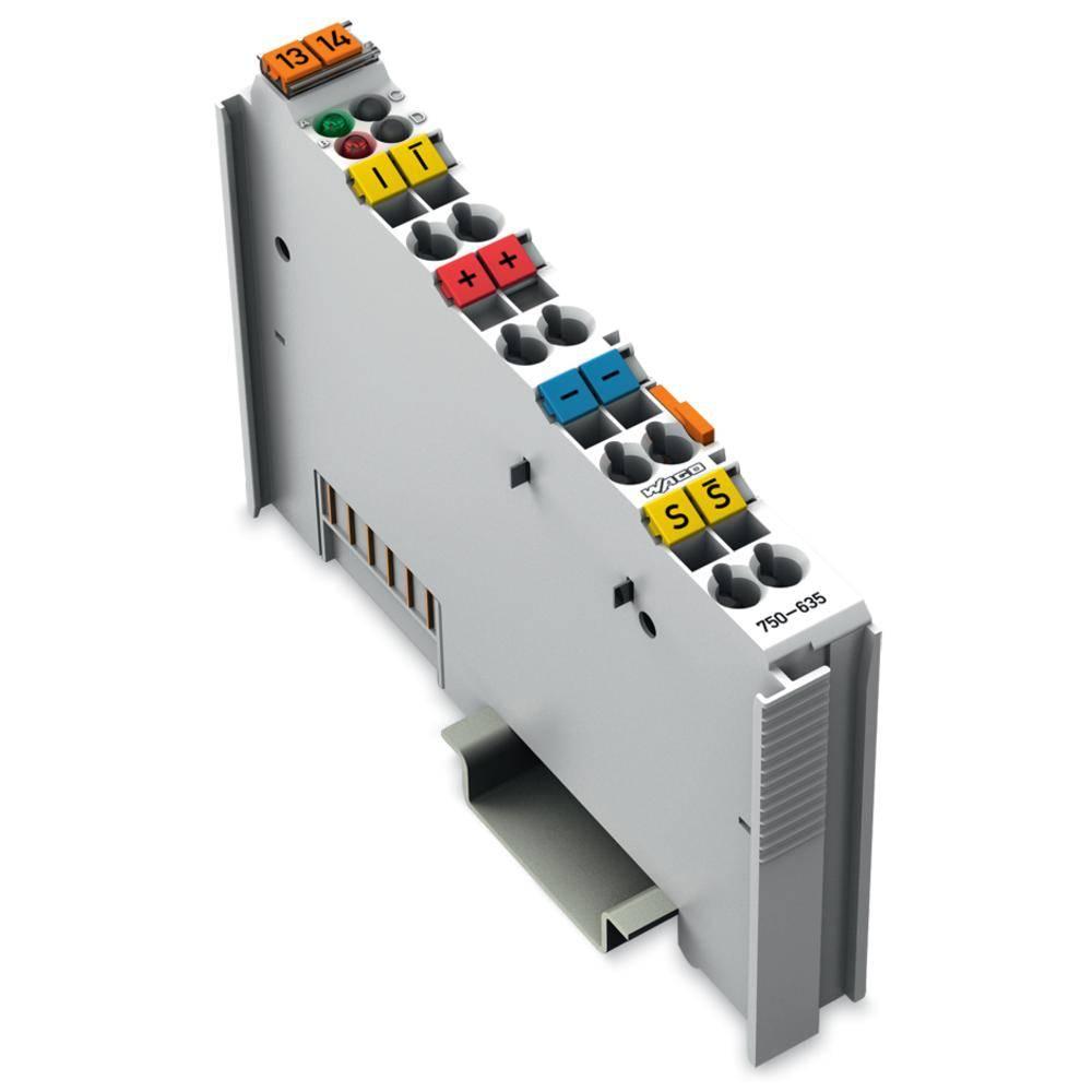 WAGO Digitalni impulzni vmesnik 750-635 24 V/DC vsebuje: 1 kos