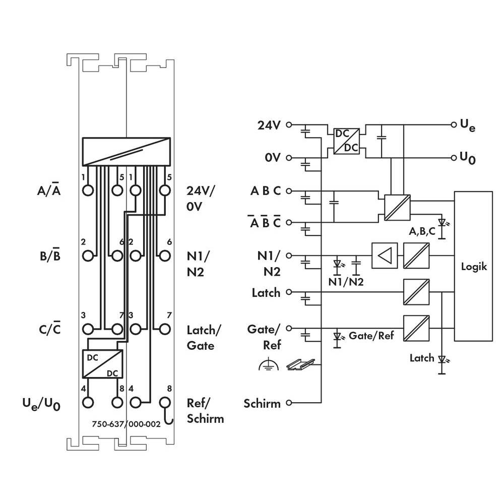 Plc Incremental Encoder Wago 750 637 000 002 24 Vdc From Wiring Diagram
