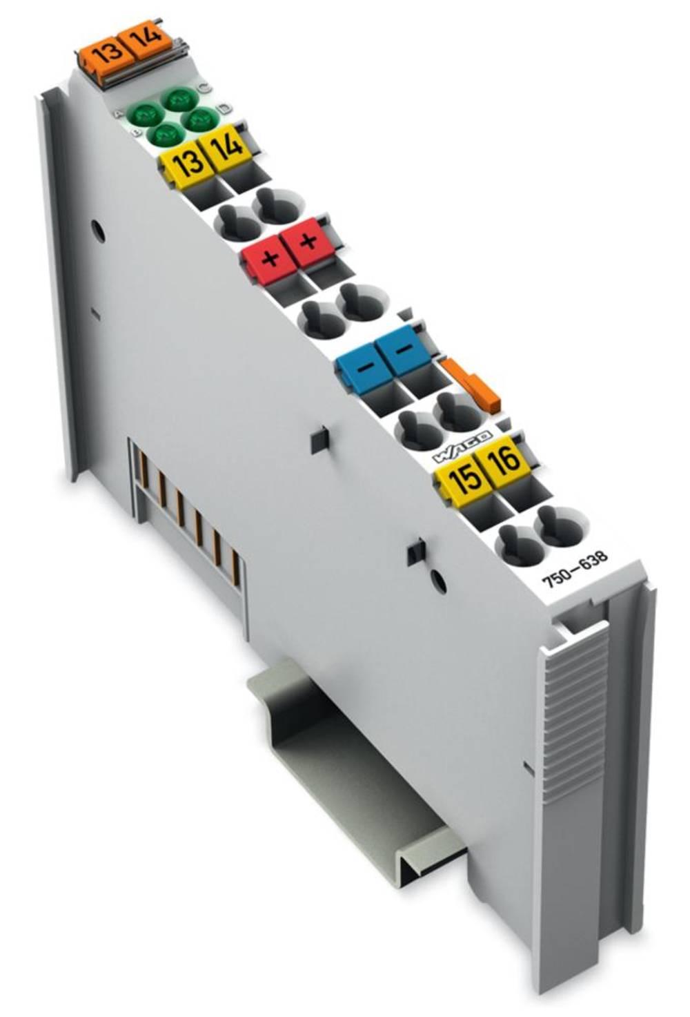 WAGO 2-kanalni-seštevalnik/odštevalnik 750-638 vsebuje: 1 kos