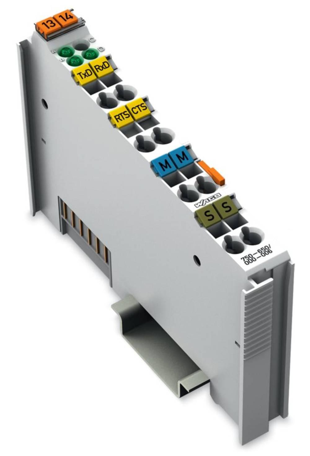 WAGO serijski vmesnik 750-650/000-006 prek sistemske napetosti DC/DC vsebuje: 1 kos