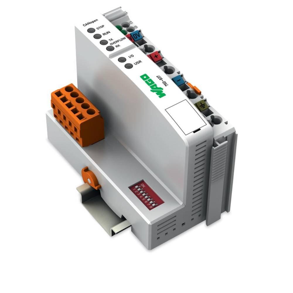 WAGO SPS - Feldbus krmilnik z možnostjo programiranja CANopen, MCS 750-837/021-000 24 V/DC vsebuje: 1 kos