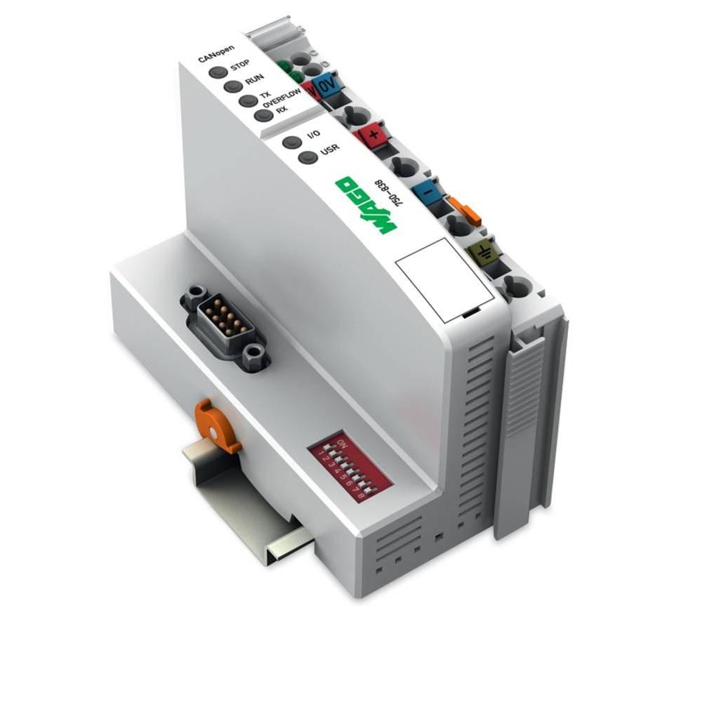 WAGO SPS - Feldbus krmilnik z možnostjo programiranja CANopen, D-Sub 750-838/020-000 24 V/DC vsebuje: 1 kos