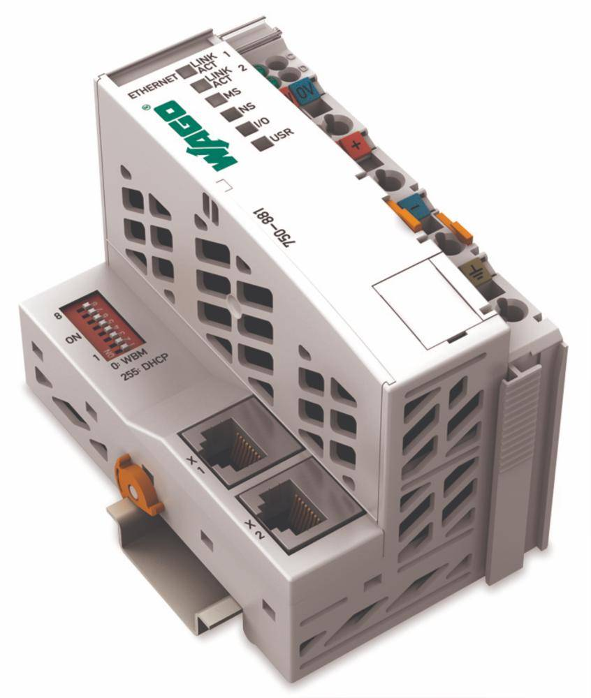WAGO SPS - Feldbus krmilnik z možnostjo programiranja ETHERNET 750-881 24 V/DC vsebuje: 1 kos