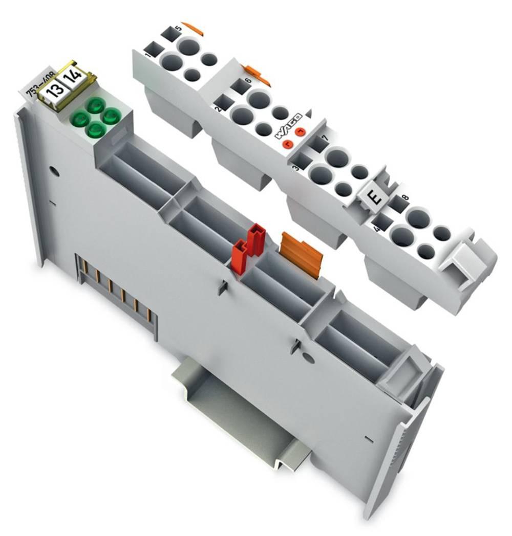 WAGO 4-kanalna-digitalna vhodna spona 753-408 24 V/DC vsebuje: 1 kos