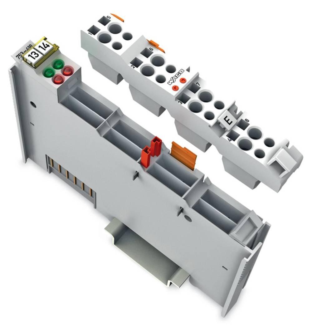 WAGO 2-kanalna-digitalna vhodna spona 753-418 24 V/DC vsebuje: 1 kos