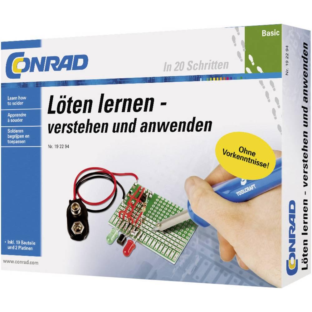 Osnovni paket za učenje Naučite lemiti 10062 Conrad od 14 godina
