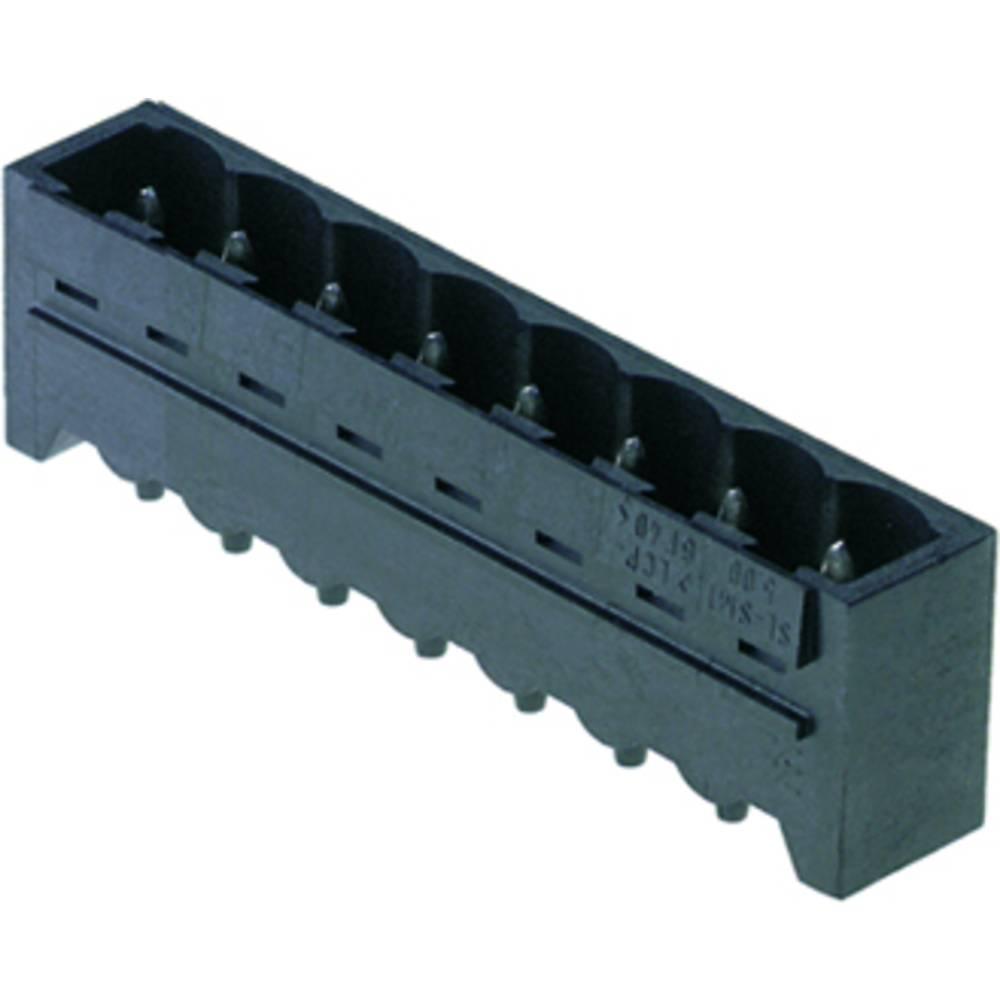 Konektor tiskanega vezja Weidmüller vsebuje: 250 kosov