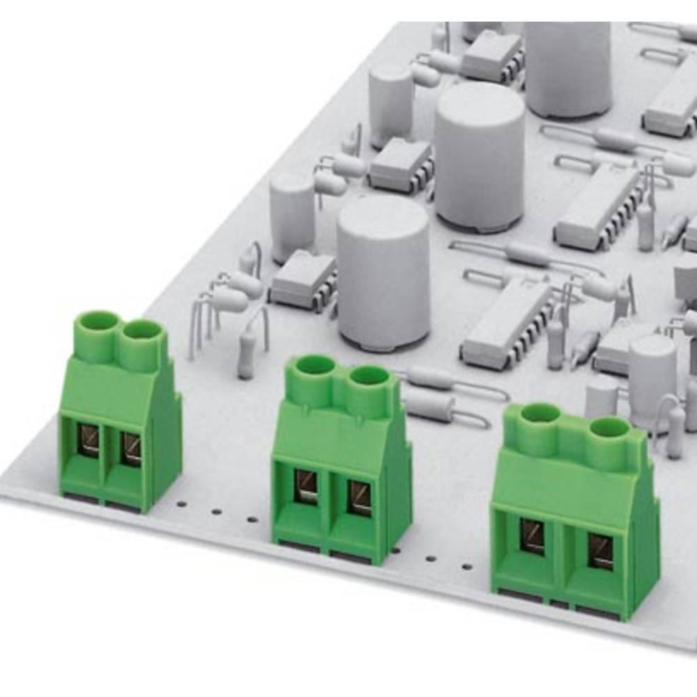 Dobbeltrækkeklemme Phoenix Contact MKDSV 5/ 3-9,5 4.00 mm² Poltal 3 Grøn 50 stk