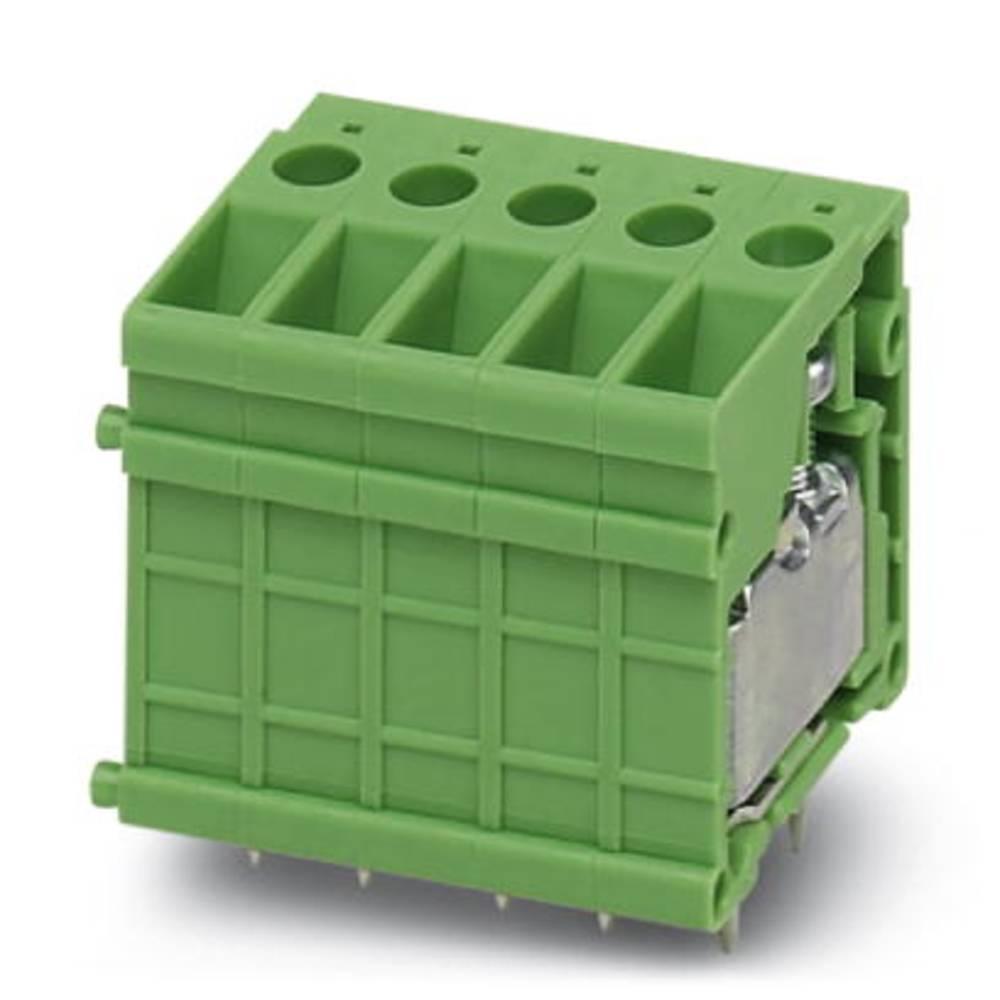 Skrueklemmeblok Phoenix Contact FRONT 4-V-6,35 6.00 mm² Poltal 1 Grøn 50 stk