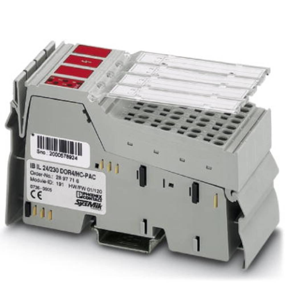 SPS-razširitveni modul Phoenix Contact IB IL 24/230 DOR4/HC-PAC 2897716 24 V/DC
