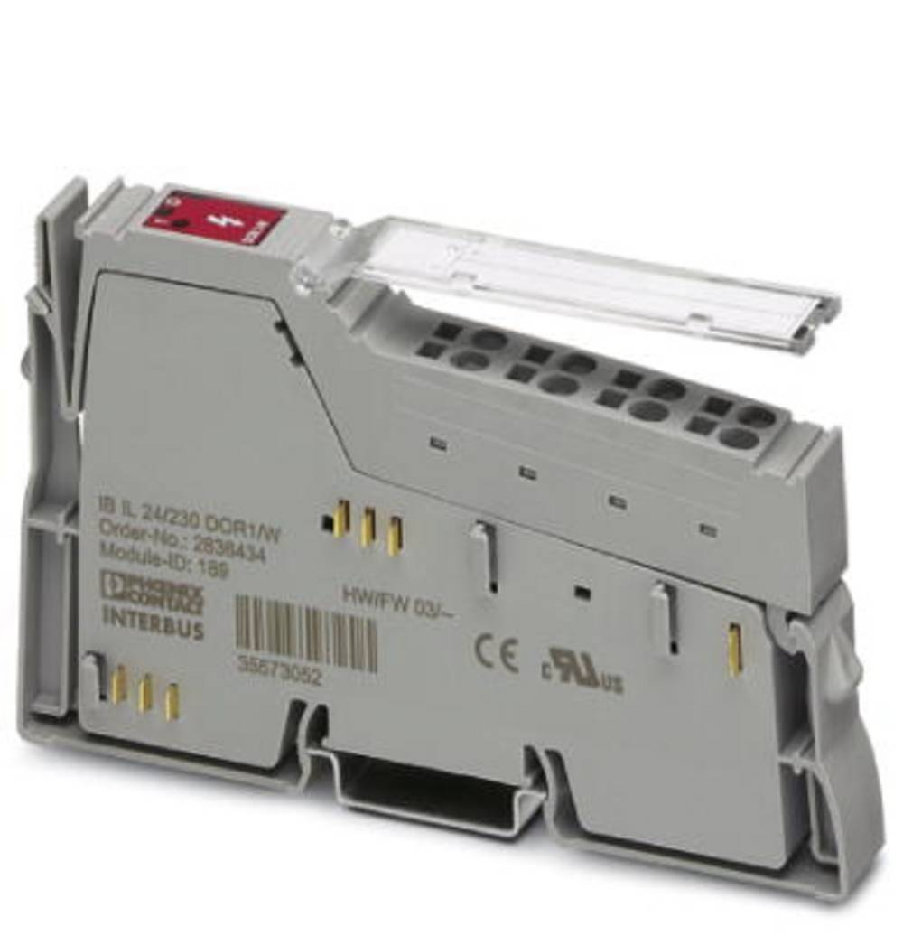 SPS-razširitveni modul Phoenix Contact IB IL 24/230 DOR1/W-PAC 2861881 24 V/DC