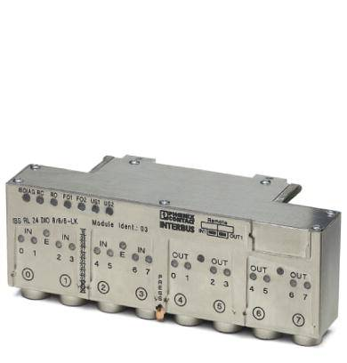 PLC add-on module Phoenix Contact IBS RL 24 DIO 8/8/8-LK