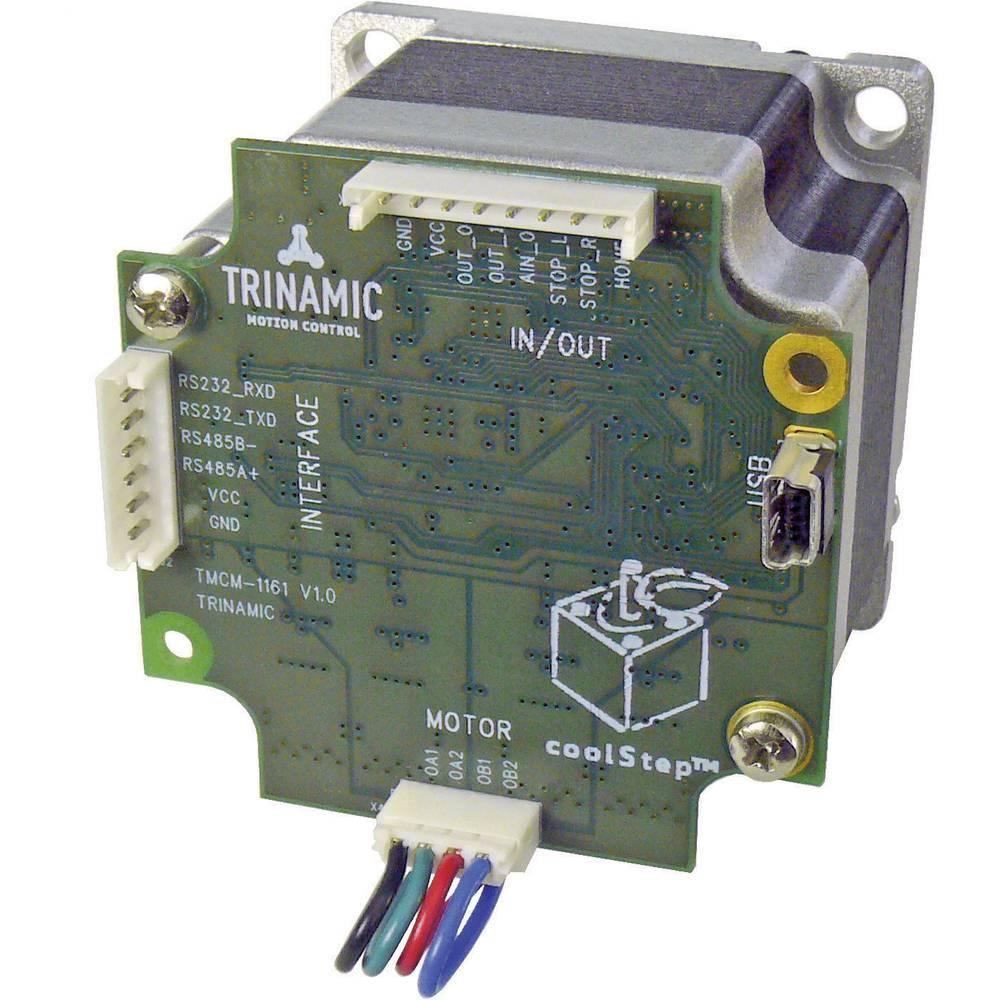 Trinamic PD57-1-1161 Koračni motor s krmilnikom PANdrive™ Mechatronik, 10-30 V/DC, 0.55 Nm 30-0174