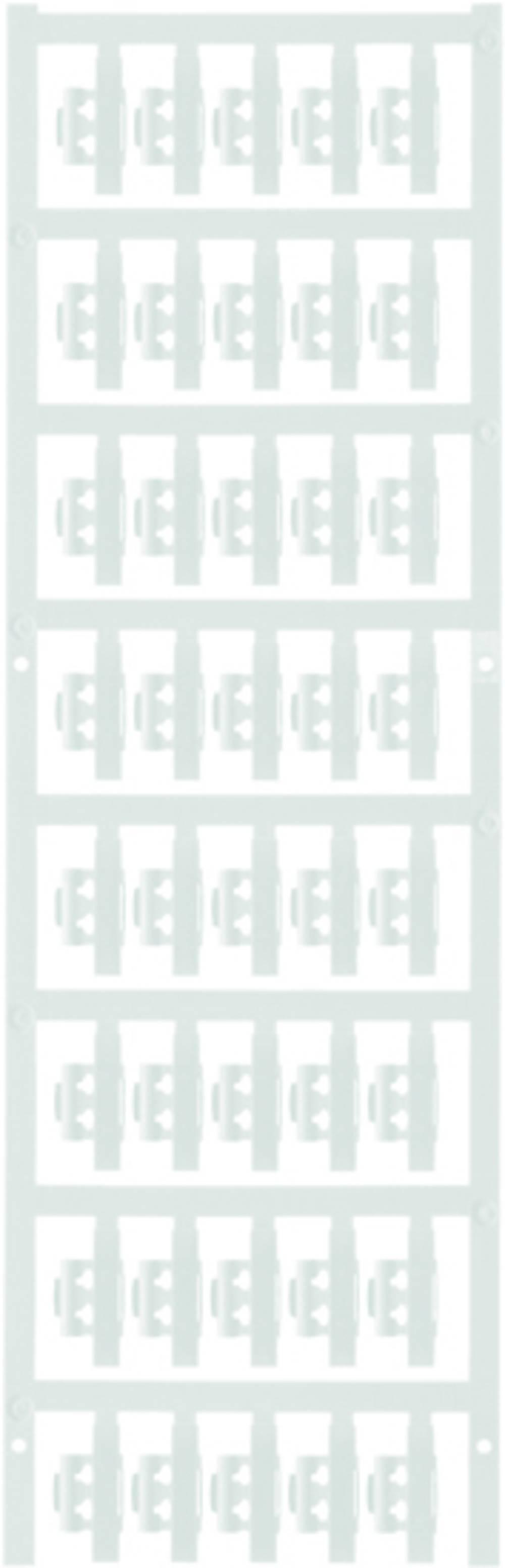 Markeringsophæng Weidmüller SFC 1/21 NEUTRAL WS 1779080001 200 stk Antal markører 200 Hvid
