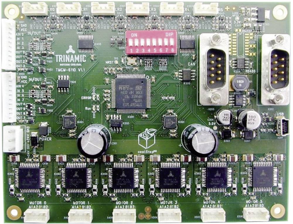 Trinamic 6-Achs-krmiljenje koračnega motorja TMCM-6110 pogonska napetost 24 V fazni tok (maks.) 1.1 A 10-0200