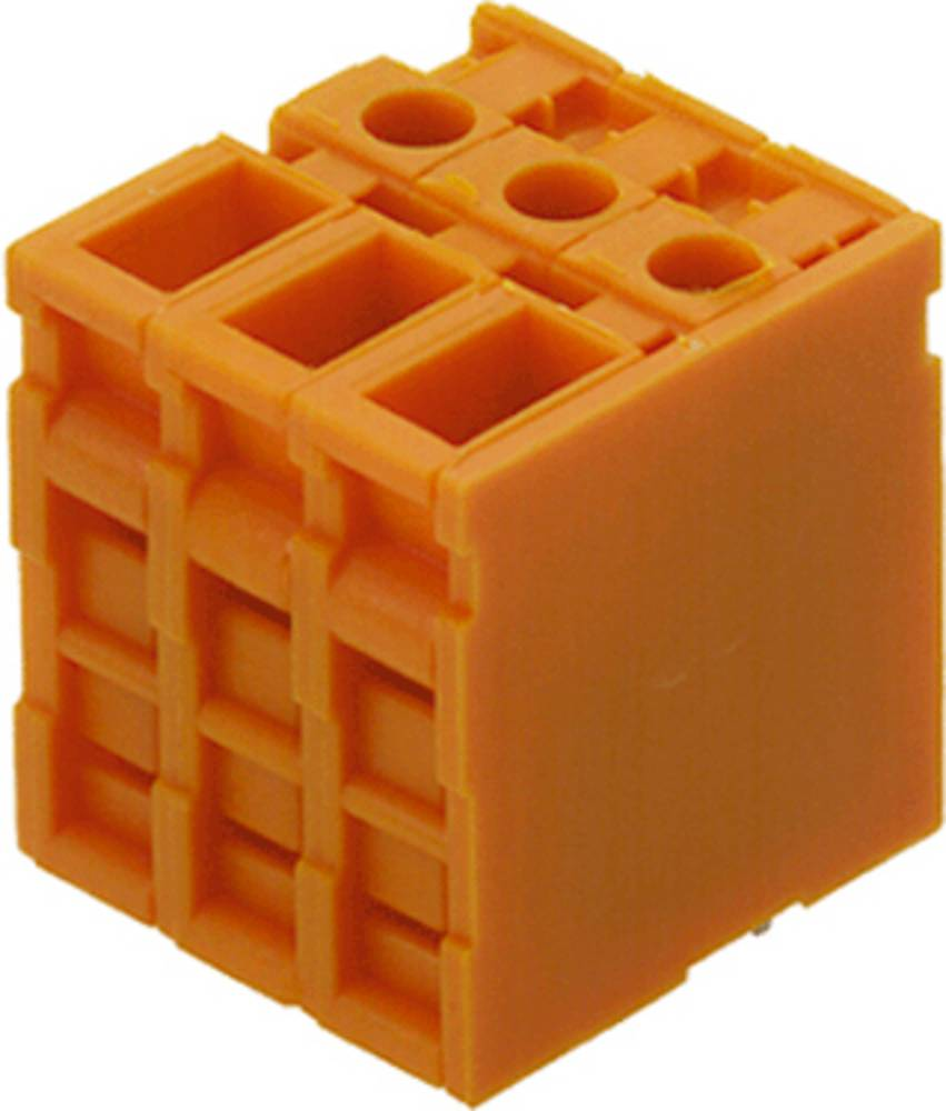 Skrueklemmeblok Weidmüller TOP4GS6/180 6.35 OR 4.00 mm² Poltal 6 Orange 50 stk