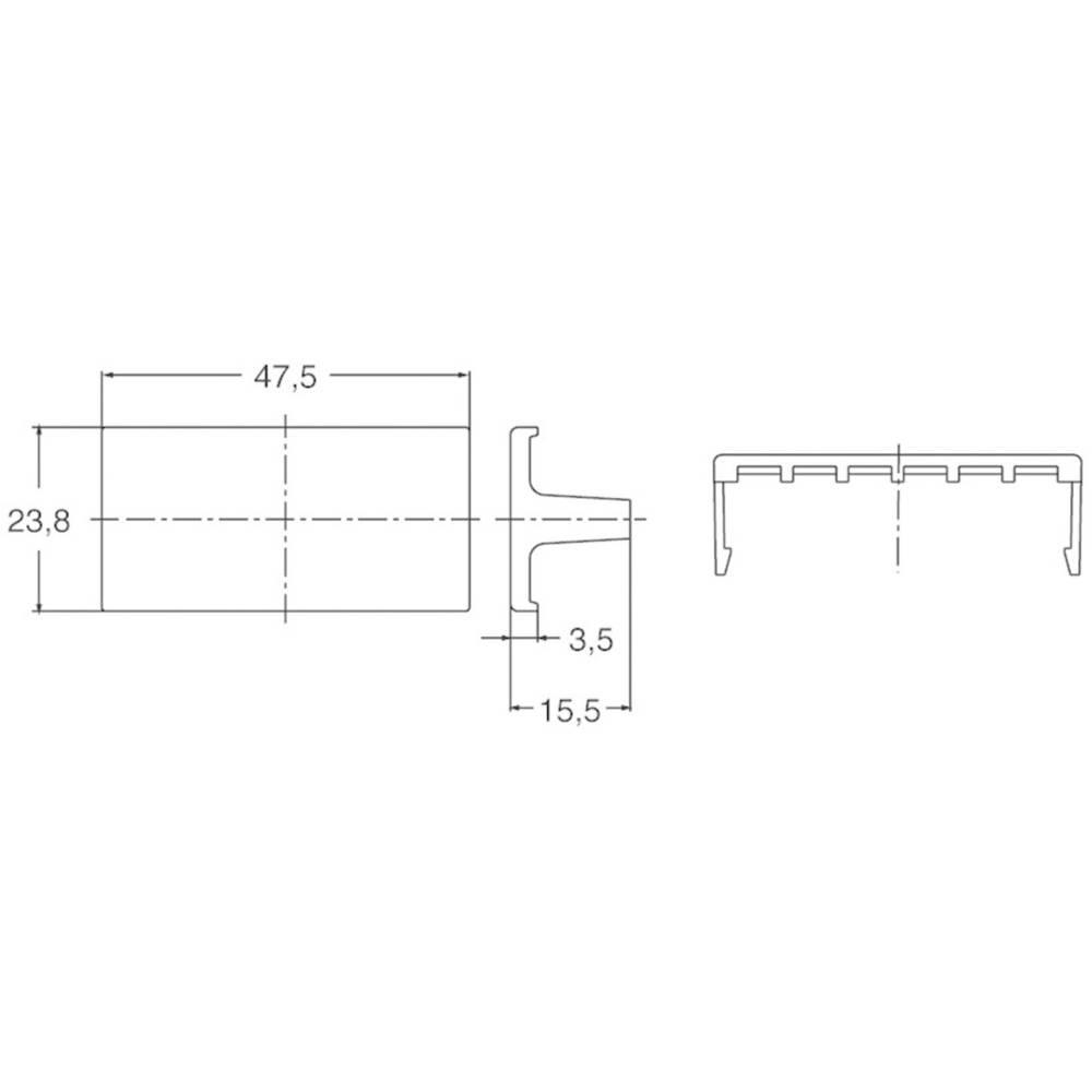 Panasonic zaščitni pokrovček za zadnjo stran primeren za Panasonic termostat KT2 AKT2801