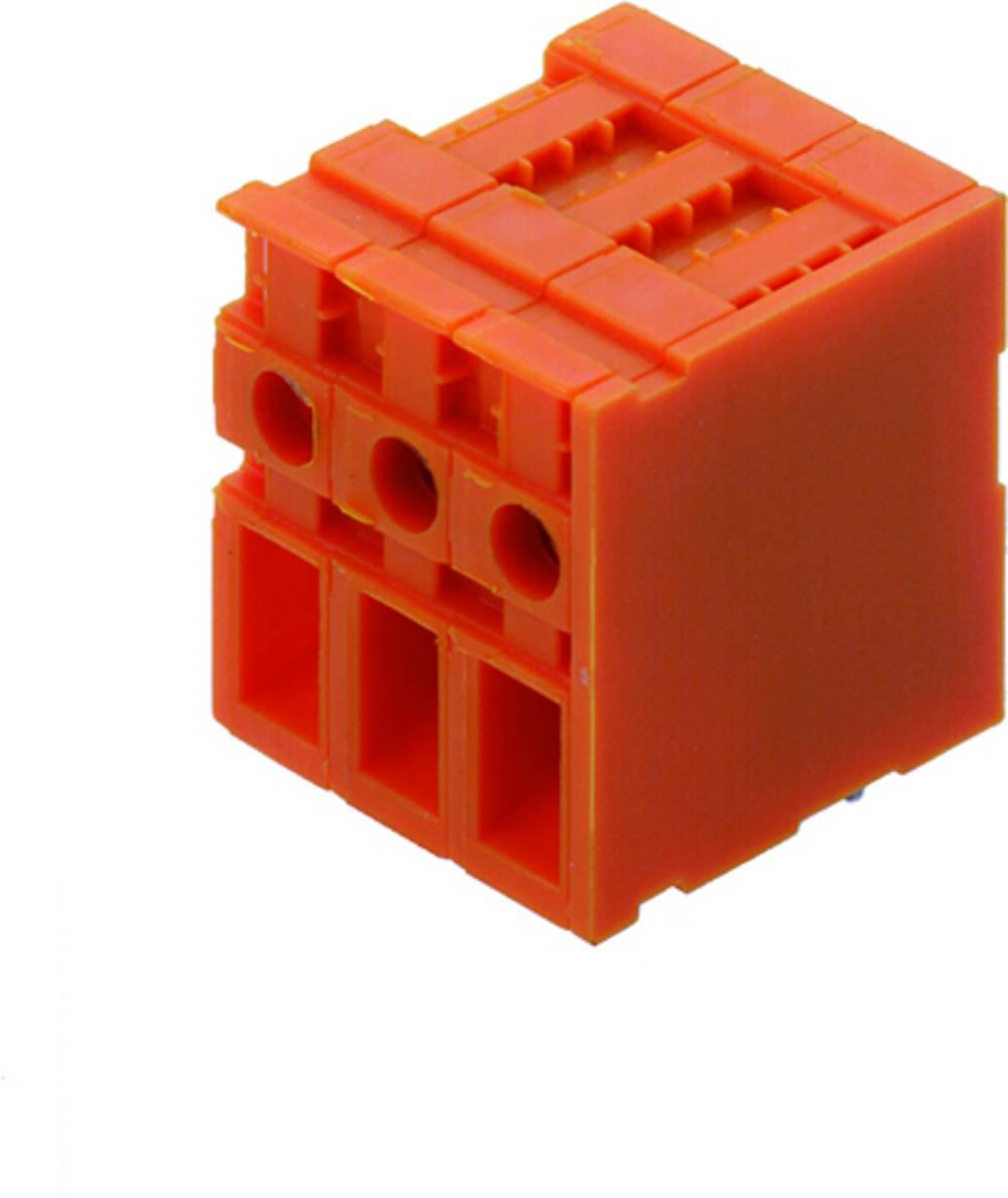 Skrueklemmeblok Weidmüller TOP4GS9/90 7.62 OR 4.00 mm² Poltal 9 Orange 50 stk