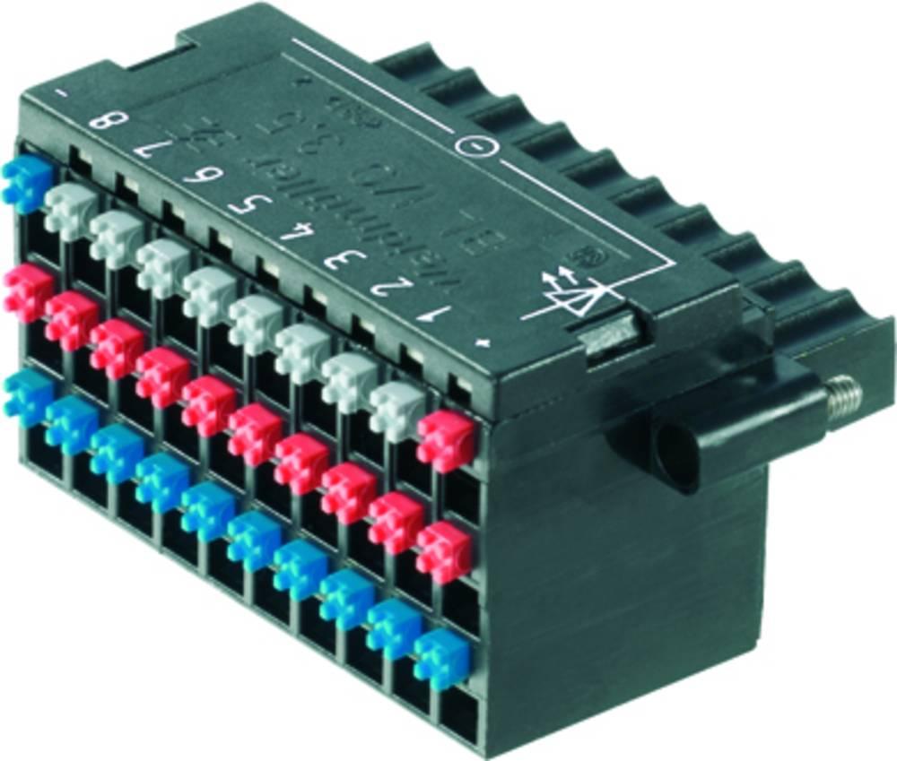 Tilslutningskabinet-kabel BL/SL Samlet antal poler 30 Weidmüller 1789100000 Rastermål: 3.50 mm 20 stk