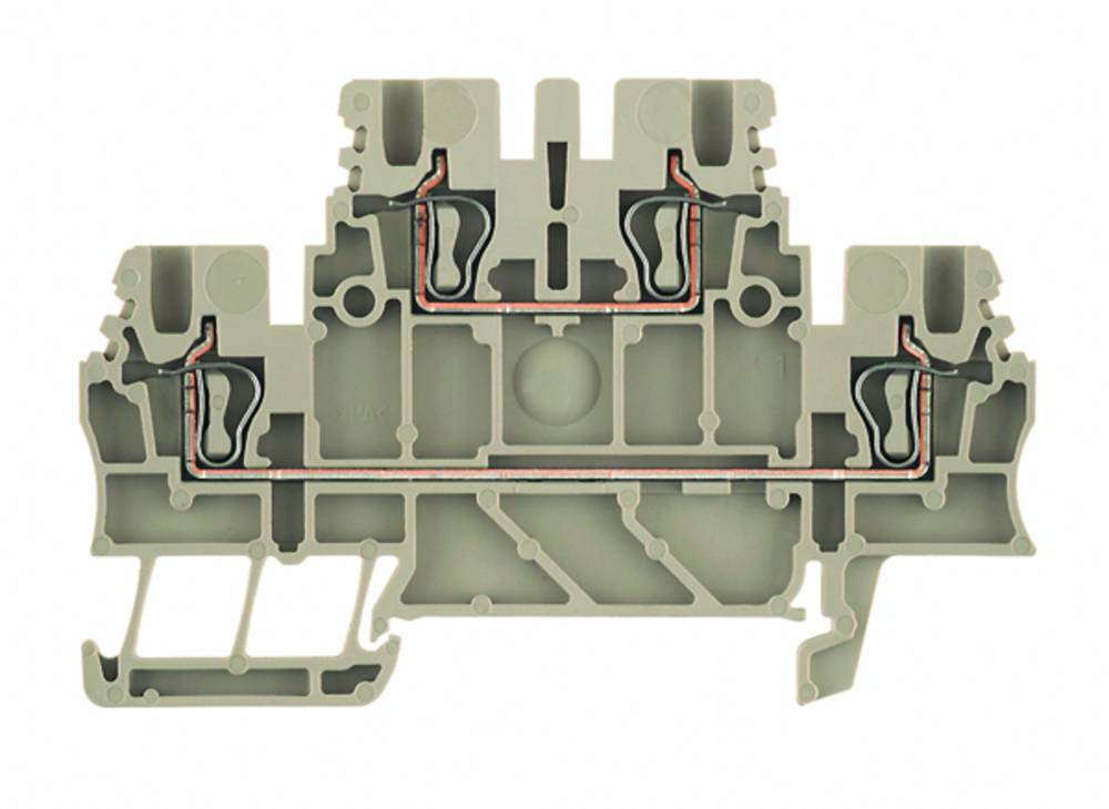 Dobbelt-niveau modulopbygget terminal Weidmüller ZDK 1.5V BL 1791140000 100 stk