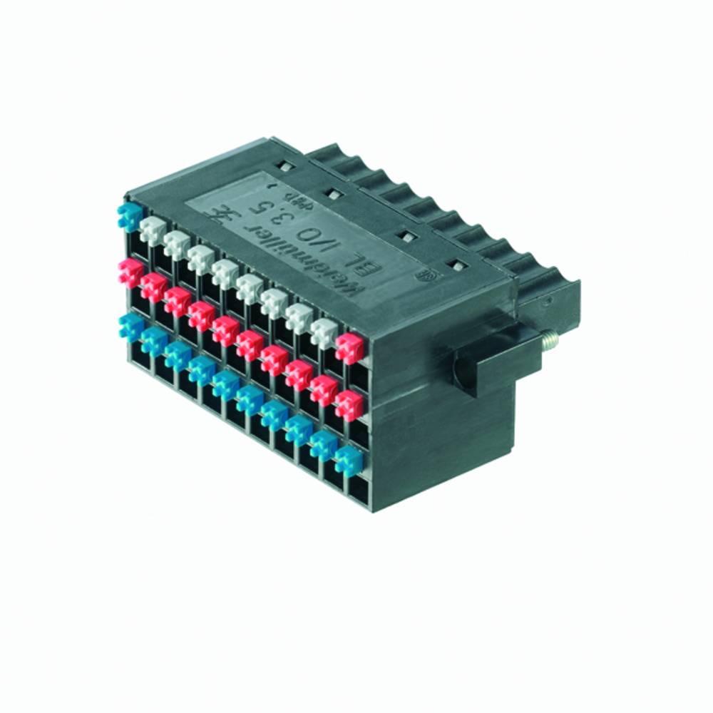 Vtični konektor za tiskana vezja Weidmüller 1792330000 vsebuje: 20 kosov