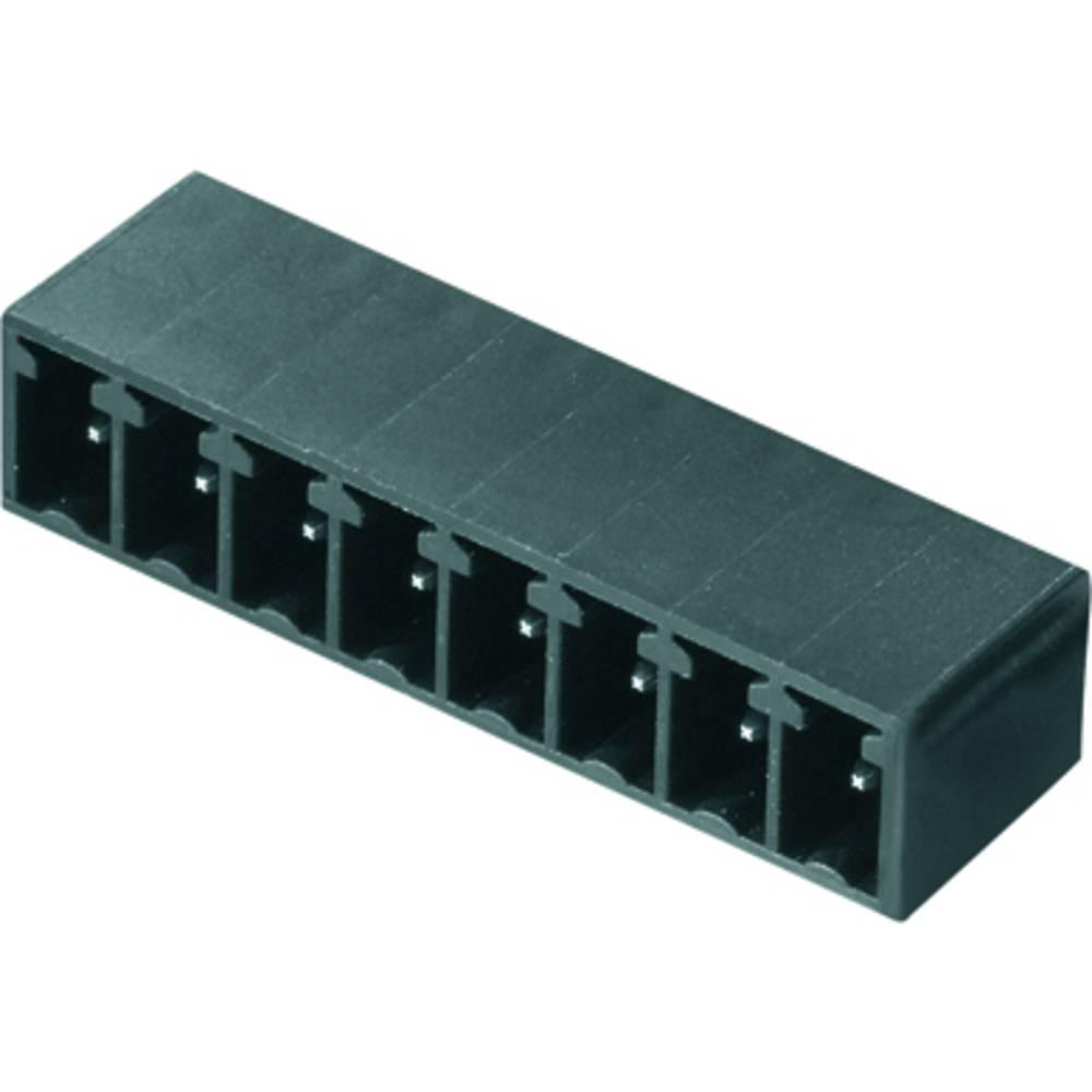 Vtični konektor za tiskana vezja zelene barve Weidmüller 1793310000 vsebuje: 50 kosov