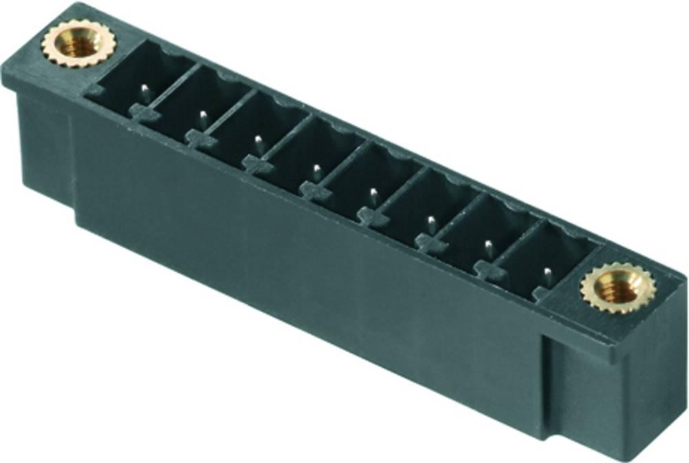 Vtični konektor za tiskana vezja zelene barve Weidmüller 1793830000 vsebuje: 50 kosov