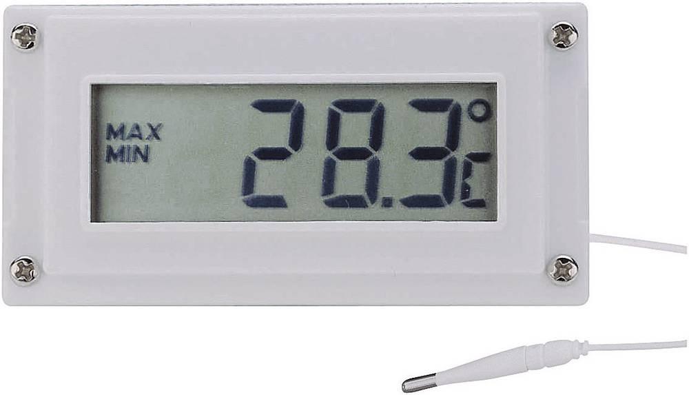 VOLTCRAFT LCD-modul za prikaz temperature, stikalni modul in modul za prikaz časa -10 do +110 °C kalibriran po (za DPT) kalibrir