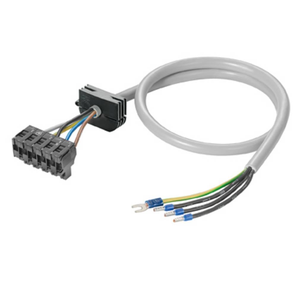 Ledning Weidmüller 1059190000 FPL 4G2.5/P/F/3 Hvid 1 stk