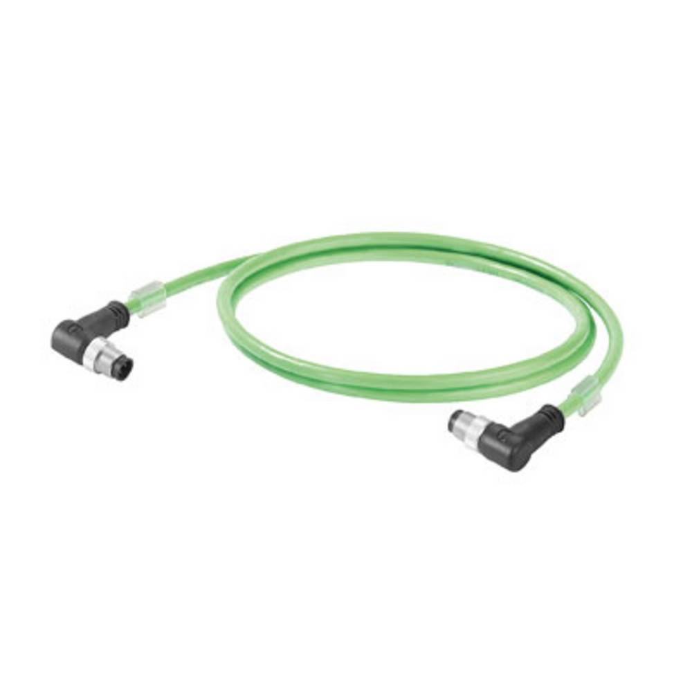 Sensor- /aktor- -datastikforbindelse, konfektioneret Weidmüller IE-C5DD4UG0100MCAMCA-E 1 stk
