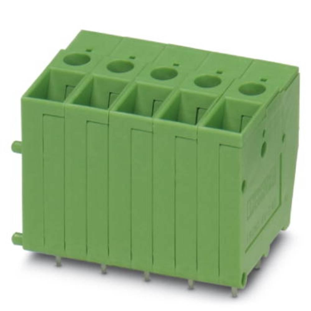 Skrueklemmeblok Phoenix Contact FRONT 4-V-7,62 6.00 mm² Poltal 1 Grøn 50 stk