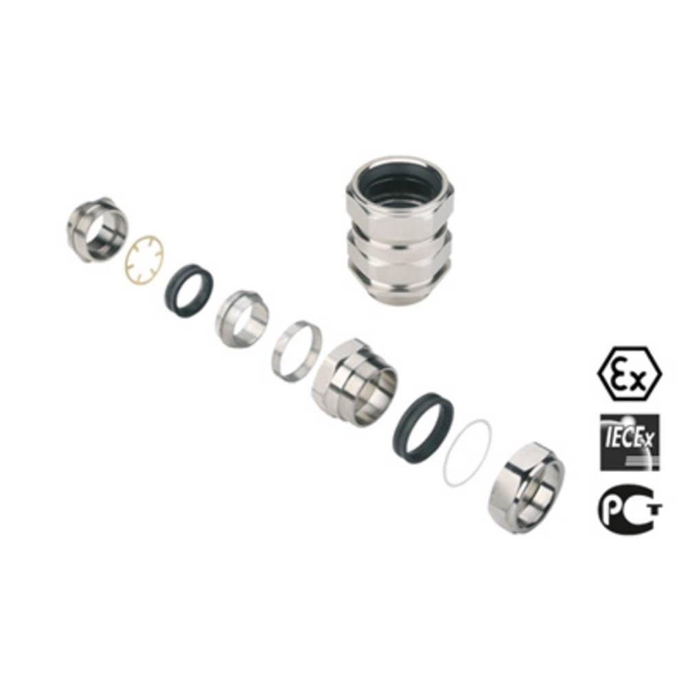 Kabelforskruning Weidmüller KDSW M50 BN L NI 1 G50S M50 Messing Messing 1 stk