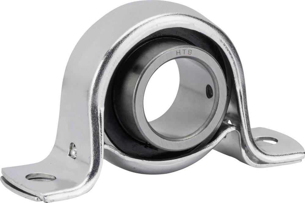 Stoječi ležaj UBC Bearing SBBP, ohišje iz jekl. pločevine, premer: 15 mm, 7.500 N, 4.550 N