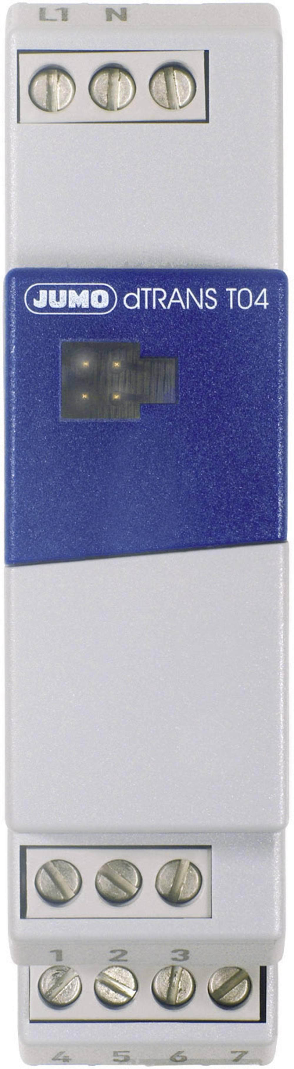 4-žični merilni pretvornik Jumo dTRANS T04 00439267o dTRANST04 00439267