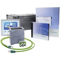 SPS-begyndersæt Siemens S7-1200+KTP400 BASIC 6AV6651-7KA01-3AA4 115 V/AC, 230 V/AC