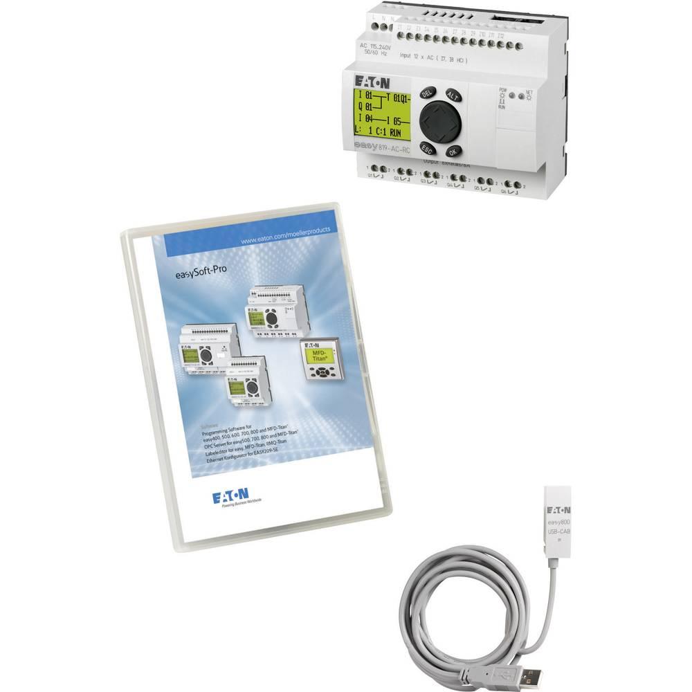 SPS-začetni komplet Eaton easy-MAXI-Box-USB DC 116561 24 V/DC